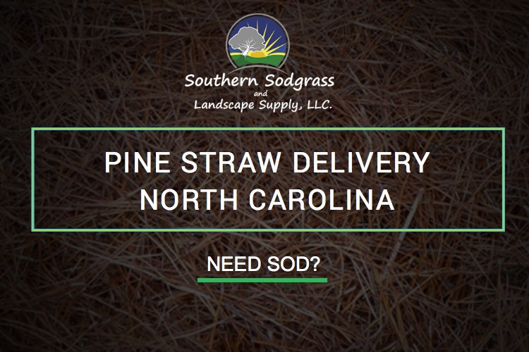 pine straw delivery North Carolina